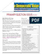 #14 June 10 Primary Election Issue #1