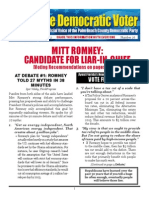 #26 Mitt Romney - Liar-In-chief