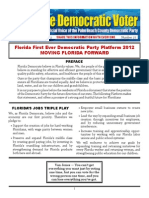 #27 Florida Democratic Party Platform