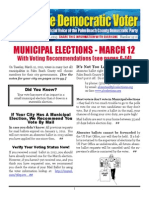 13-2 Municipal Elections, March 12