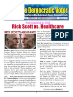 13-5 Rick Scott vs Healthcare