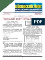 13-8 Rick Scott and Voter Suppression