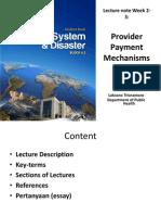 Laksono 2013 Lecture 4.2 Payment Mechanism