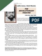 Baraka Amiri - The Revolutionary Theatre