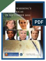 Global Warming's Six Americas, September 2012