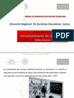 Fortalecimiento de La Escuela I. SEP-AFSDF-Ixtapalapa.2014