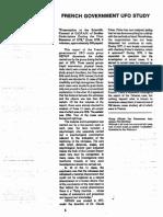 French Gov Ufo Study