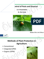 Organic Control of Pests and Diseases in Your Garden