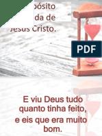 O Propósito Da Vinda de Jesus Cristo