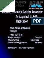 Kinema Tic Cellular Automata