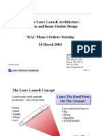 Laser Launch Architecture