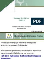 CAD CAM Simulação