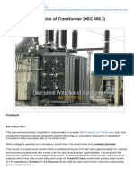 Electrical-Engineering-portal.com-Overcurrent Protection of Transformer NEC 4503