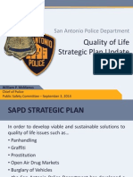 SAPD Strategic Plan Update Public Safety