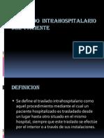 Traslado Intrahospitalario Del Paciente