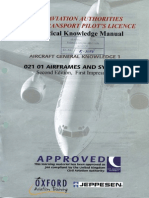 Jaa Atpl Book 2- Oxford Aviation Jeppesen-Airframes and Systems