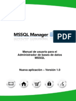 13 MSSQL Manager User Guide