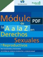 Modulo A - Z Derechos Sexuales