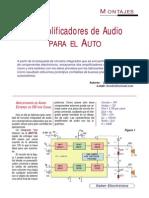 2 Amplificadores de Audio Para El Auto