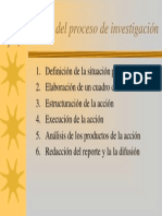 Etapas de Recherche (1)