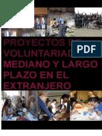 Voluntariado Largo Plazo Extranjero 2011