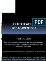 INTOXICACION MEDICAMENTOSA