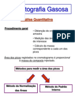 Cromatografia Gasosa - Analise Quantitativa
