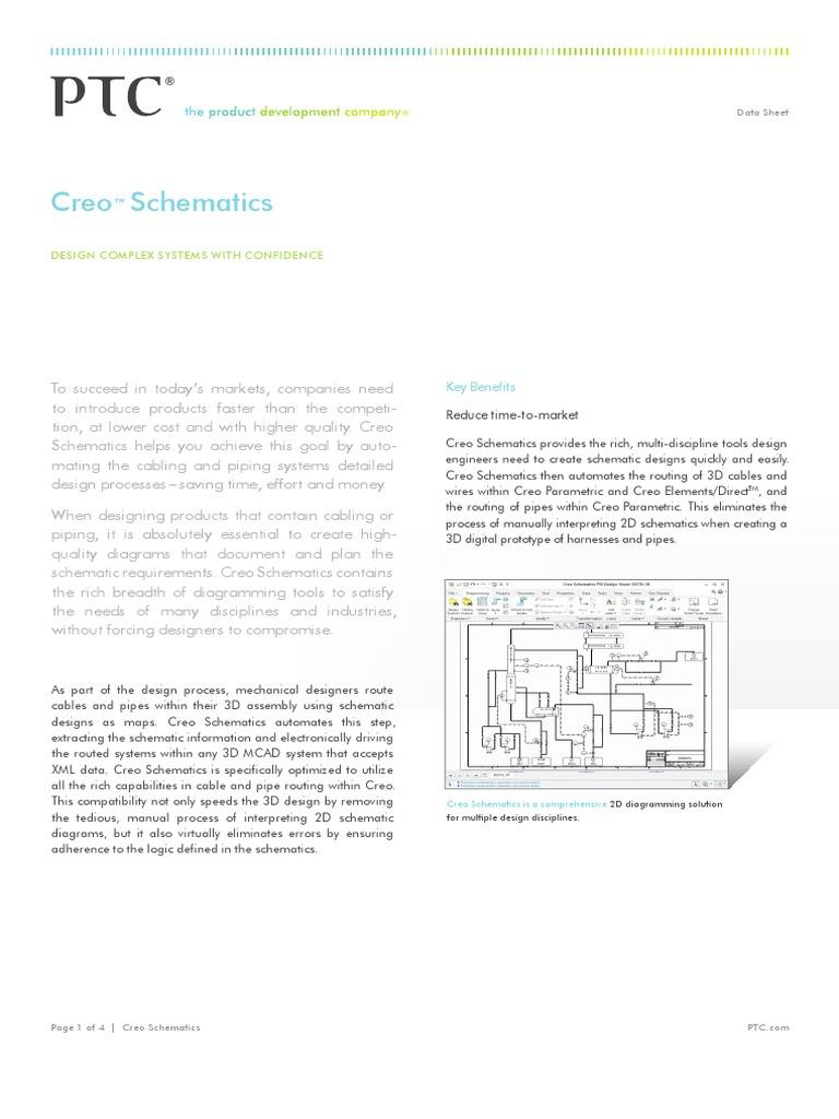 Ptc Creo Schematics Automation Technology Wiring Diagram