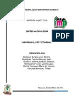 Proyecto Final Consultora