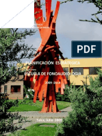 Planificación Estrategica Escuela Fonoaudiologia 2009 - 2014. PDF