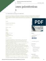 Evaluaciones Psicotécnicas Laborales_ Modelo de Informe