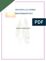 Introduccion a La Teoria Psicoterapeutica- Felipe Iannacone