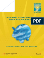Natural Resources Canada - NRCan - Heating Your Building with Solar Energy (SolarWall)