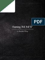 Framing MMT — Modern Money Network