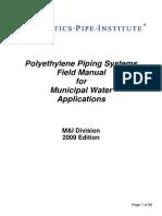 Field Manual Municipal Water Applications
