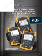 AC Fluke 437 II Power Quality Energy Analyzer Brochure 2