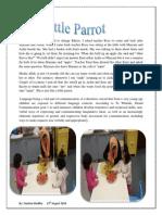 August-Our little Parrot