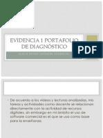 Evidencia 1 Portafolio de Diagnóstico