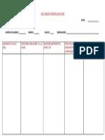 Cuadro de Plan de Continuidad Pedagogica 2014