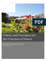 Policy and Procedures for Protecting Minors (Revised 2015)