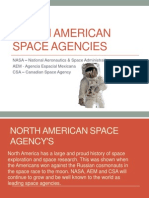 nth  america space agencys