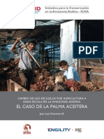 Cambio de Uso de Suelo y El Caso de La Palma Aceitera en La Amazonía