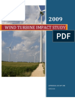 Ago Wind Turbine Property Value Impact Study