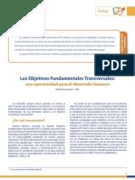 201103070025210.Valoras UC Los Objetivos Fundamentales Transversales, Una Oportunidad Para El Desarrollo Humano 2003