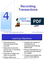 topic 4 - recording transaction