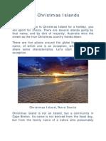 Five Christmas Islands
