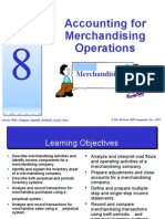 topic 8 - accounting for merchandising operation