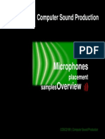 Microphones Placement Overview