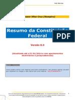 Resumo de Toda Constituicao 8.0 - Vitor Cruz