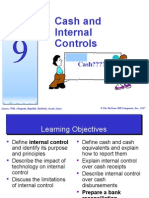 topic 9- cash and internal controls